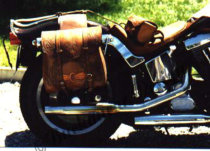 "Packtasche/Saddlebag ""Western Floral"""